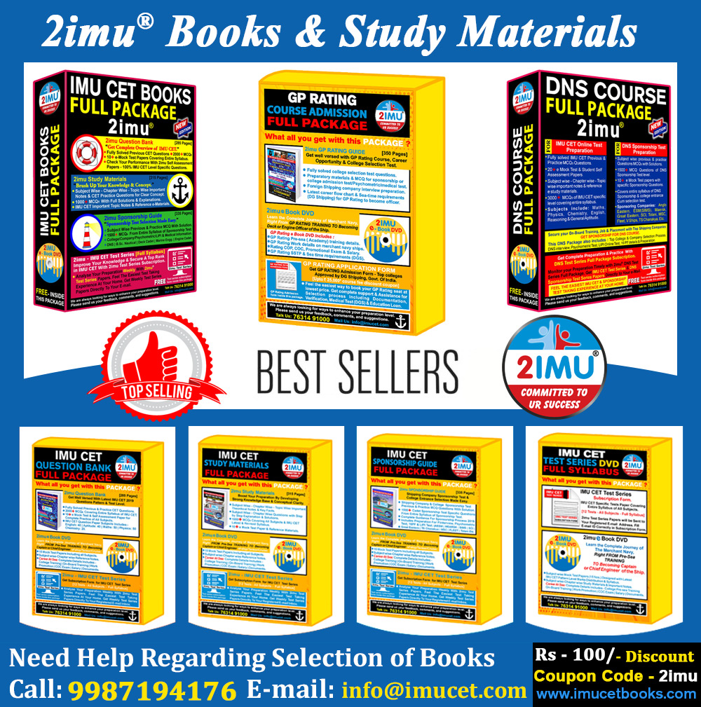 IMU_CET Books, Gp rating Books, DNS preparation pack,imu cet full package,test series